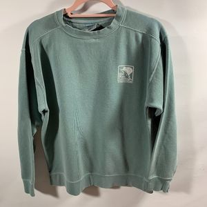 Hilton Head Tackle Shop Teal Sweatshirt Sz S